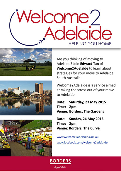 Moving to Adelaide