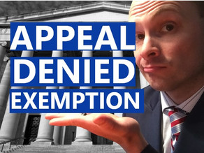 Appeal a Denied Religious or Medical Exemption: Checklist