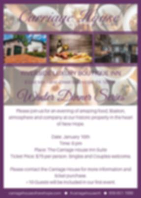 CHNH Winter Dinner Series Event Informat