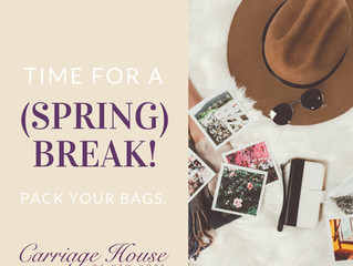 Time to Take a (Spring) Break!