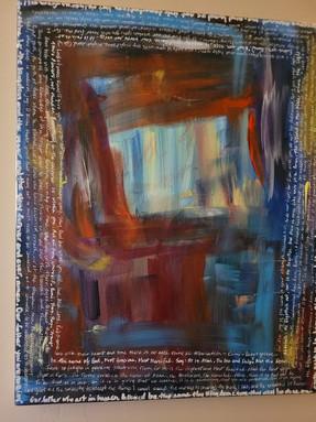 Prayer canvas