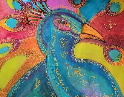 The Humble Peacock