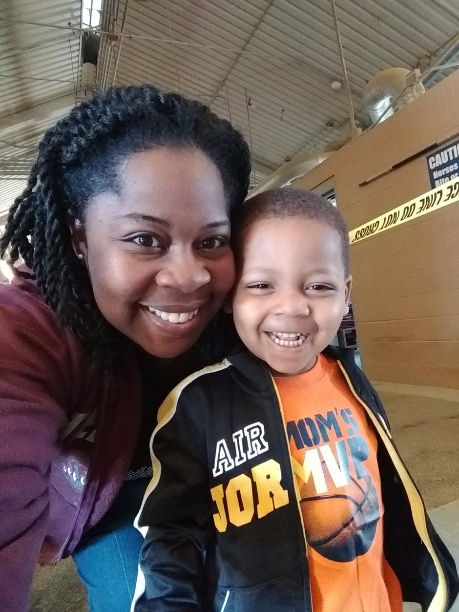 Mom...bo bo healing, lunch fixing, basketball playing, story telling, homework helping woman
