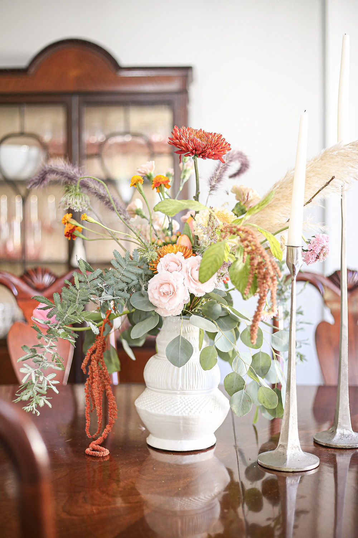 interior design, antiques, thrifting, house reveal, home tour, gallery hallway, contemporarie, caroline mccroskey, caroline harding, tulsa oklahoma, rental house, rental style, sarah baker photography