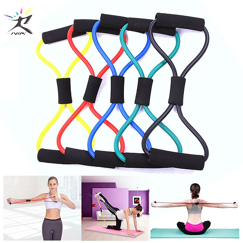 8 Word Fitness Rope Resistance Bands