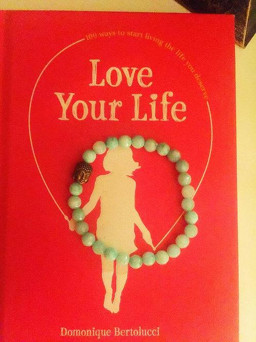 Buddha beads turquoise