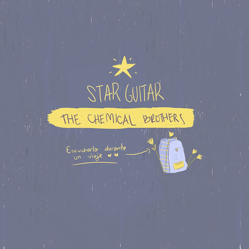 Starguitar_ChemicalBrothers Illustration