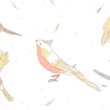 Bird Illustration by Petunia