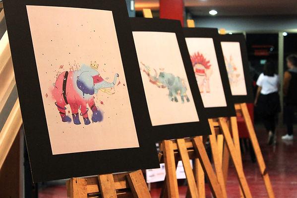 Elephant Caravan Exhibition_ by Petunia.