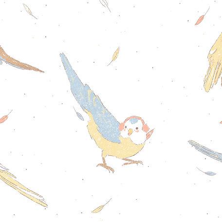 Bird Illustration by Petunia 2