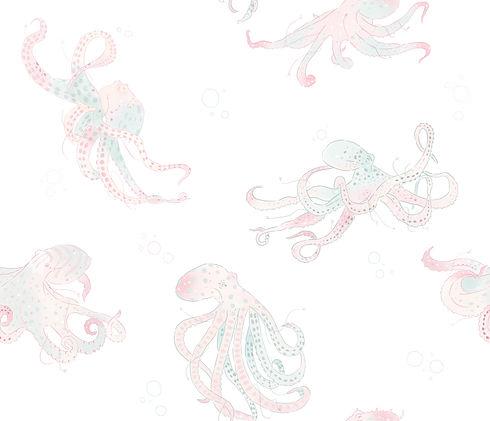 Octopus Pattern Design by Petunia