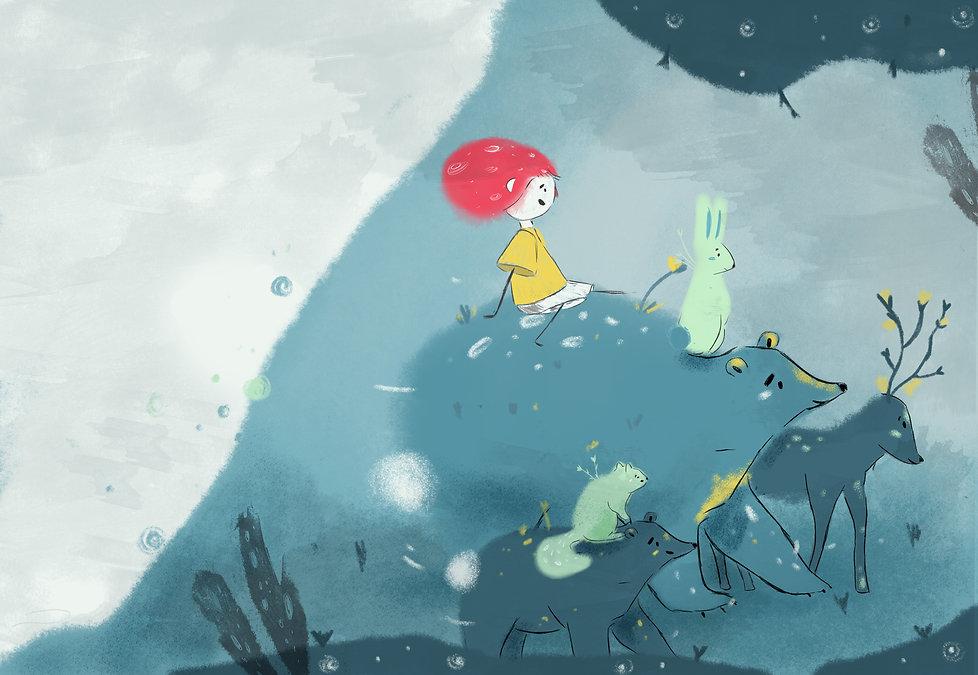 Illustration Illustrated Tale by Petunia