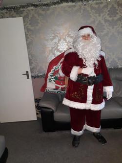 Santa arrived