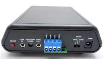 Studio MP3 Interface rear view