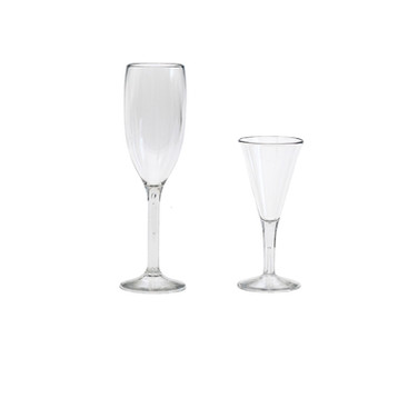 Champagne and Cordial Flutes