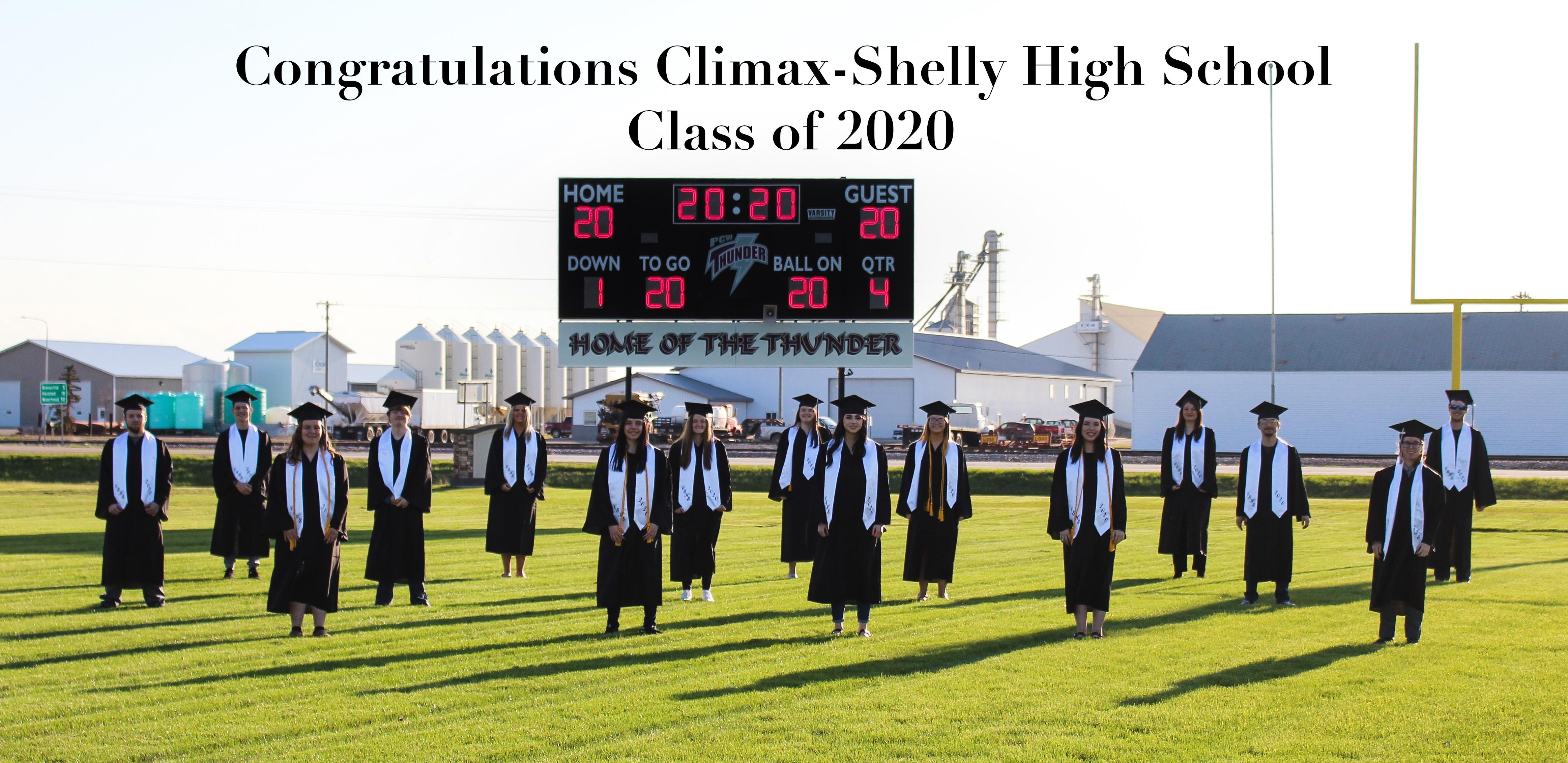 Class of 2020 Congrats