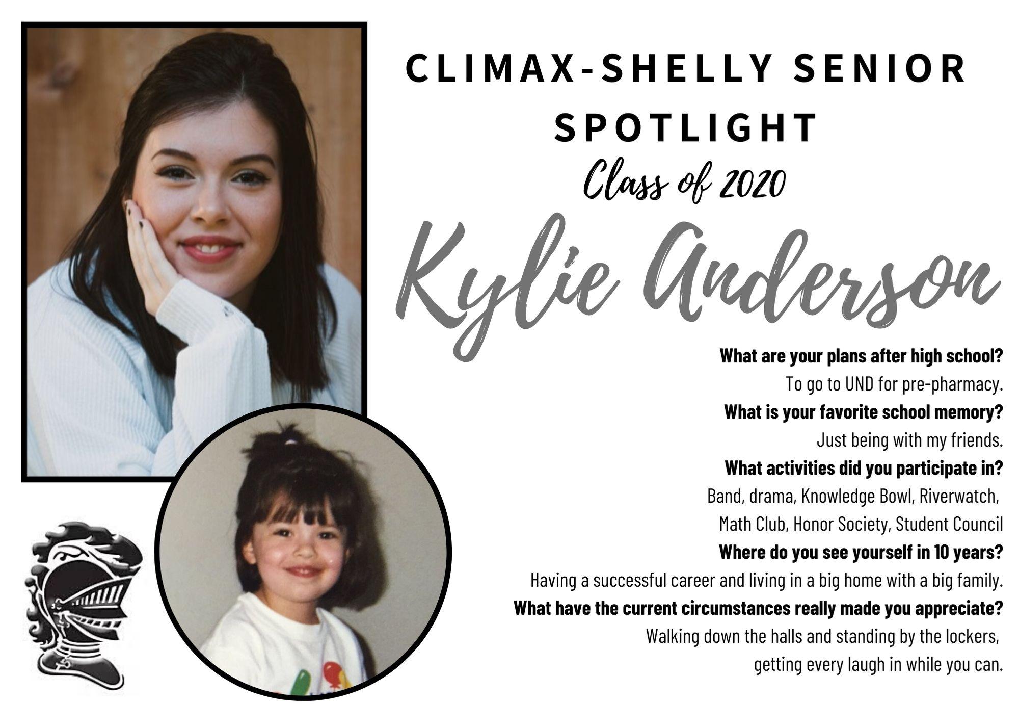 Kylie Anderson Senior Spotlight