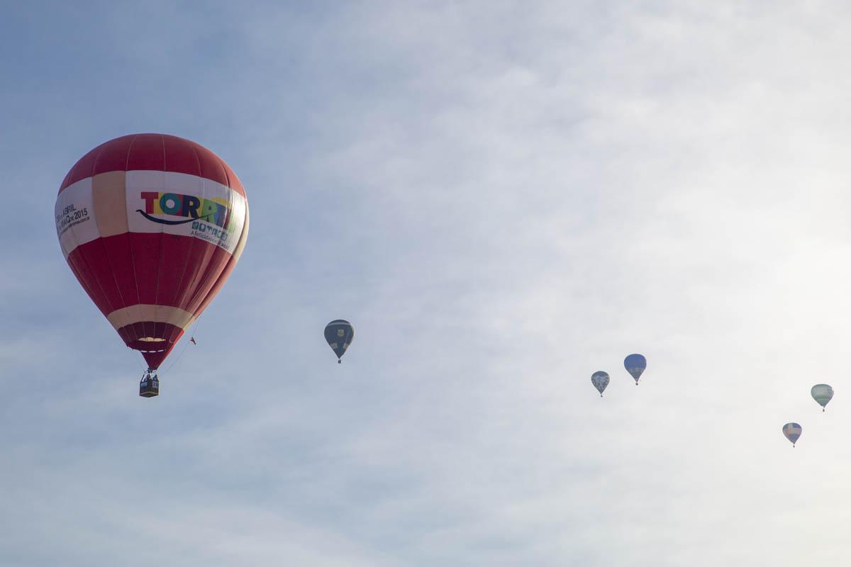 Balonismo Torres foto para decoração
