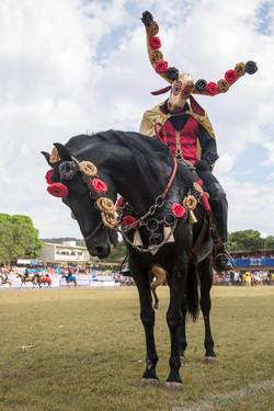 Mascarados nas Cavalhadas de Pirenópolis