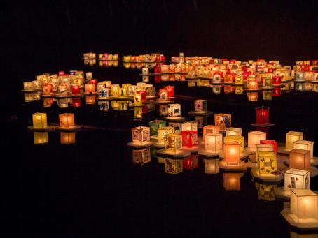 Tooro Nagashi: homenagem da comunidade japonesa aos antepassados