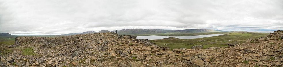 A caminho do sul perto de Isafjordur_Pan