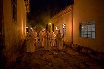 Festa Semana Santa - Procissão dos Penitentes - Goiás Velho - quadros para decoração