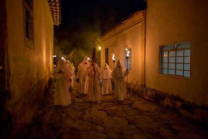 Procissão dos Penitentes Goiás Semana Santa