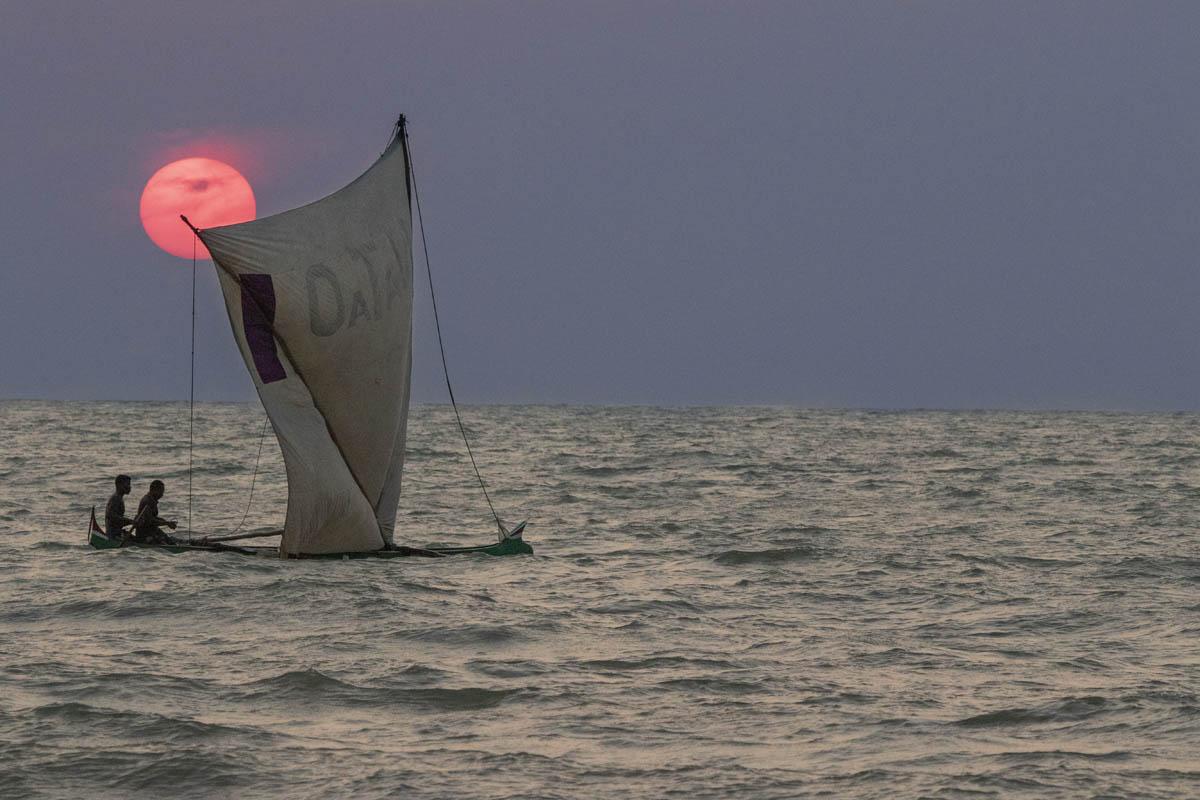 Pescadores em Morondava - Madagascar