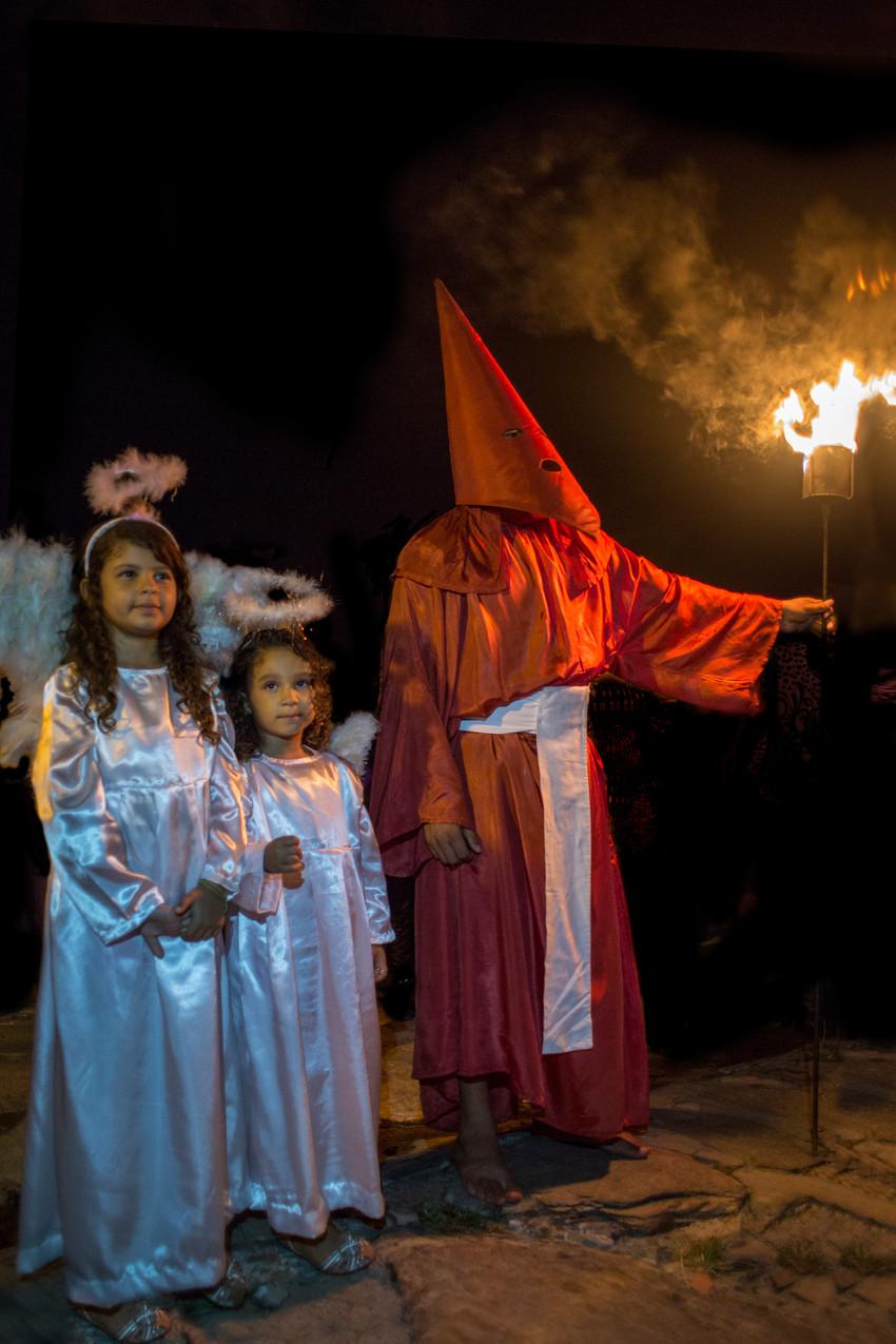 Procissão do Fogaréu - Semana Santa