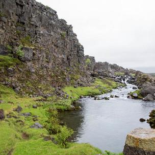Riozinho no Þingvellir