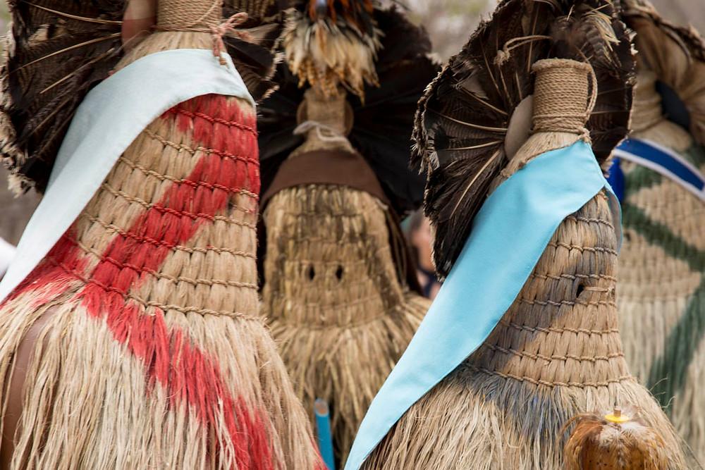 Praiás - indumentária Pankararu para o ritual da Toré - Juazeiro do Norte - CE