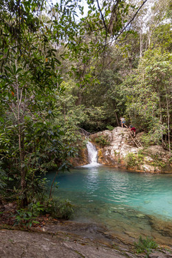 Cachoeira na Comunidade Kalunga