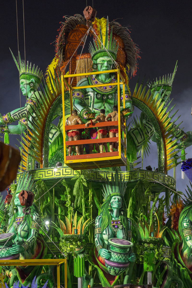 Desfile das Escolas de Samba de SP
