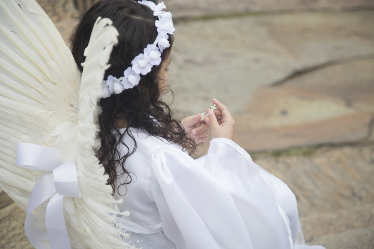 Anjos na Semana Santa