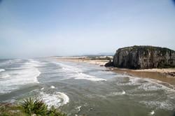 Praia de Torres no Rio Grande do Sul