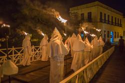 Procissão Penitentes - Semana Santa