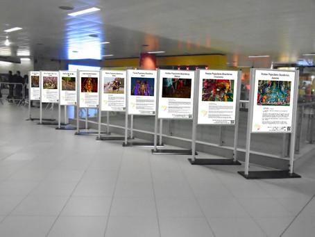 Festas Brasileiras no metrô Faria Lima