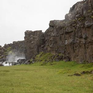 Paisagem no Þingvellir
