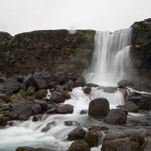 Cachoeira no Þingvellir
