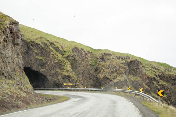 tunel entre Ísafjördur e Bulangarvik