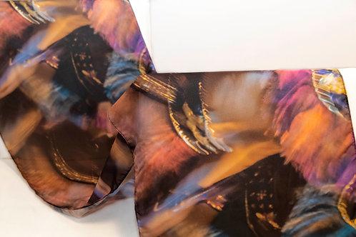 Imagem da echarpe rosa da festa do Bumba-meu-boi