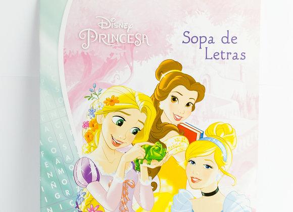 Libro Sopa de Letras Disney