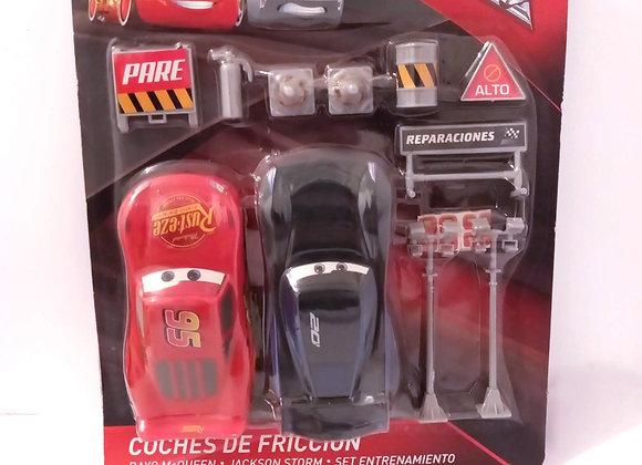 COCHES DE FRICCIÓN CARS