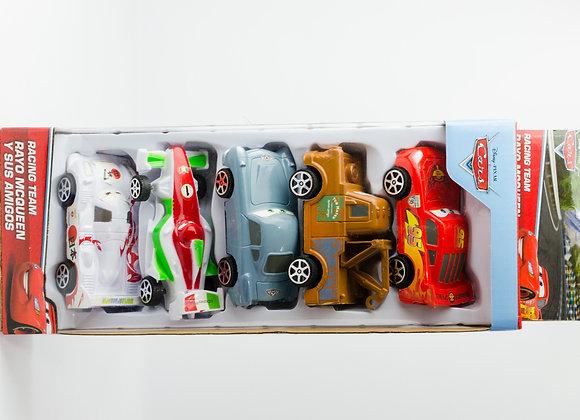 Set 5 carros Racing Team