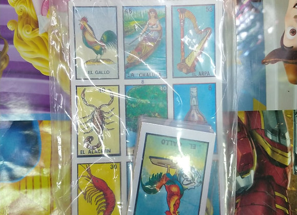 LOTERIA MINI 8 TABLAS