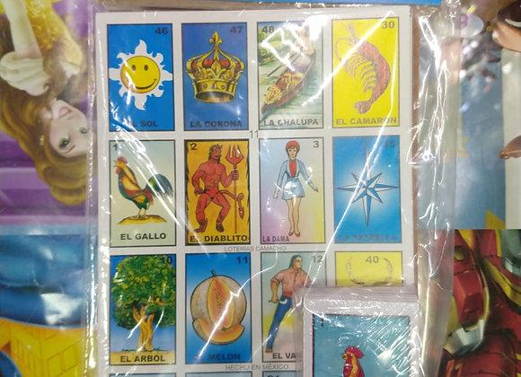 LOTERIA CHICA 10 TABLAS B/CHI