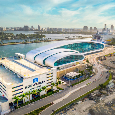Norwegian Cruise Line Terminal, Port of Miami