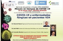 MICOSIS EN TIEMPOS DE COVID-19