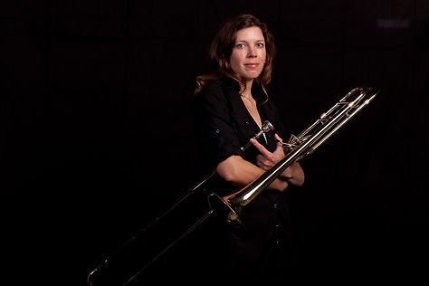 Kirsten Warfield, trombone