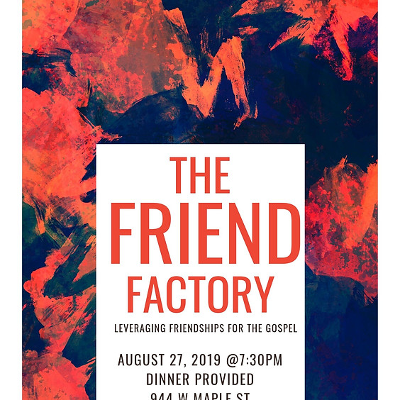 THE FRIEND FACTORY